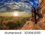 bagan  myanmar   dec 6 ... | Shutterstock . vector #323061050