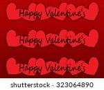 hearts | Shutterstock . vector #323064890