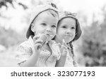Toddler Happy Children Eating...