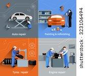 mechanic design concept set... | Shutterstock . vector #323106494