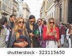 milan  italy   september 27 ...   Shutterstock . vector #323115650