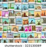 travel vector logo design...   Shutterstock .eps vector #323130089