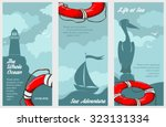 Three Nautical Banners With...
