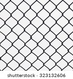 wire fence | Shutterstock . vector #323132606