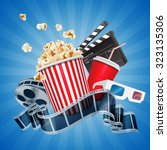 cinema | Shutterstock .eps vector #323135306