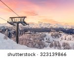 ski center of vogel  triglav... | Shutterstock . vector #323139866
