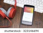 chiangmai  thailand  october 2  ... | Shutterstock . vector #323146694