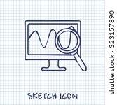 monitoring icon. desktop...