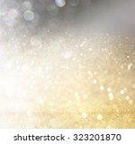 glitter vintage lights... | Shutterstock . vector #323201870