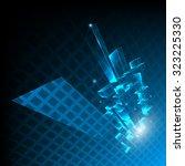abstract vector techno...   Shutterstock .eps vector #323225330