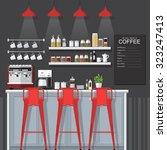 a vector illustration of... | Shutterstock .eps vector #323247413