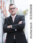 portrait of businessman... | Shutterstock . vector #323283608