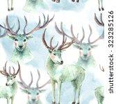 watercolor seamless pattern... | Shutterstock . vector #323285126