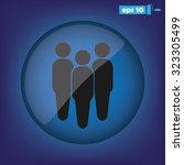 three people | Shutterstock .eps vector #323305499