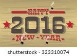 2016 Happy New Year Western