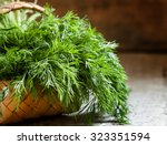 Fresh Dill From The Garden On...