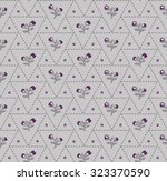 seamless pattern of abstract... | Shutterstock .eps vector #323370590