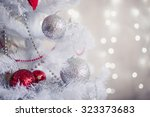 White Christmas Decoration With ...