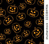 vector seamless pattern with... | Shutterstock .eps vector #323384906