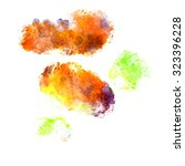abstract watercolor painting... | Shutterstock . vector #323396228
