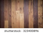 wood plank brown texture... | Shutterstock . vector #323400896
