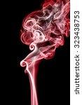 Abstract Of Smoke Dance On A...
