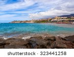 beach los cristianos in... | Shutterstock . vector #323441258