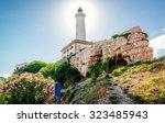 Faro De Botafoch Lighthouse In...