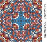 seamless pattern. vintage... | Shutterstock .eps vector #323499824