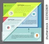 modern infographics options... | Shutterstock .eps vector #323502809