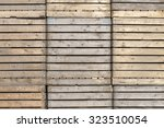 Wooden Crates At A Company In...