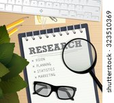 business concept for market... | Shutterstock .eps vector #323510369