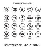 commerce   delivery | Shutterstock .eps vector #323520890