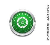 24 hours support green vector... | Shutterstock .eps vector #323548439