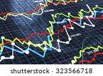 stock exchange background with... | Shutterstock . vector #323566718