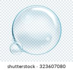 Vector Soap Water Bubbles....