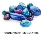 Semiprecious Stones Isolated On ...