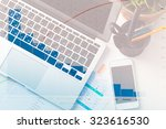 graphics  business analysis | Shutterstock . vector #323616530