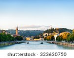 view of the ponte nuovo  new... | Shutterstock . vector #323630750