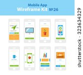 mobile wireframe app ui kit 26. ...