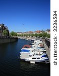 scenery at harbor of...   Shutterstock . vector #3236584