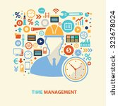Time Management Concept Design...
