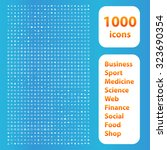 1000 Icons Set. Business Or...