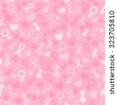 light pink seamless pattern... | Shutterstock .eps vector #323705810