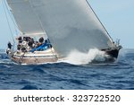 porto cervo   8 september  maxi ... | Shutterstock . vector #323722520