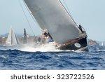 porto cervo   8 september  maxi ... | Shutterstock . vector #323722526