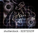 human tangents series.... | Shutterstock . vector #323723159