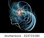 human tangents series.... | Shutterstock . vector #323723180