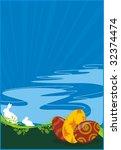 easter background | Shutterstock .eps vector #32374474