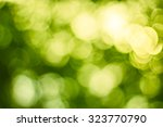 bokeh background or christmas... | Shutterstock . vector #323770790